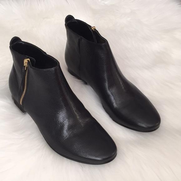 7bcb8e3641654 Cole Haan Shoes | Belmont Leather Bootie Black Size 7 | Poshmark